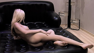 Another Stunning Striptease -- Nubile Blonde -- Retouch