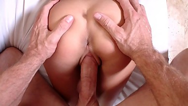 Perfect Drilling from Behind - Close-Up POV HD Penetration Sex