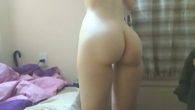 Amateur video really hot. I fucked secretly my little hot sister