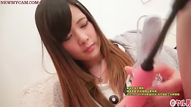 Japanese Teen Beautiful - Close up - Uncensored HD (1)