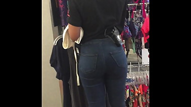 Little Black Teen Hottie with Bubble Butt
