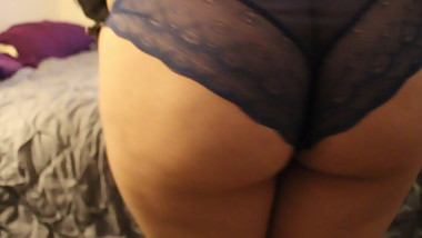 Sarah Schlacter Dancing in Purple Panties