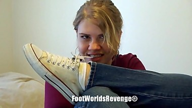 Sexy Teen Feet, Soles, Toes and Socks tease HD 720p