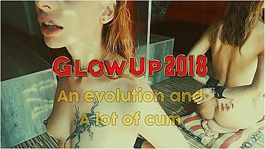 Cumpilation - A lot of Cum - Natali Fiction GLOWUP2018