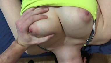 Fit college Teen Shows Off Big natural Perky Tits Compilation In 4K HD