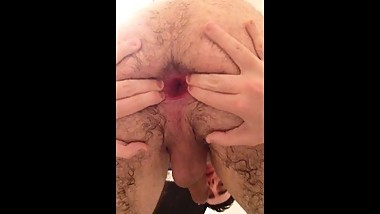 Young boy anal insertions