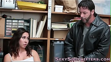 Teen shoplifter cuckolds