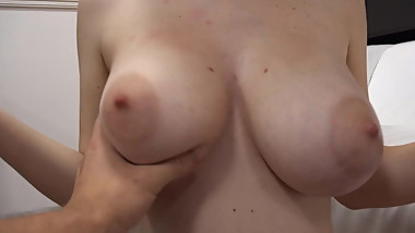 Petra Czech Teen with Big Natural Boobs