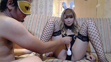 FC2 PPV 1012210 Shaved girl Let's do a cosplay of bunny girl