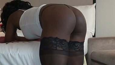 SEXY COLLEGE NUBIAN GETS DISCIPLINED