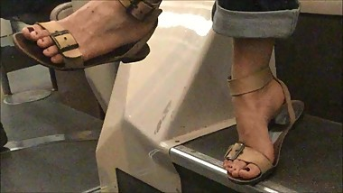 Candid Asian Feet