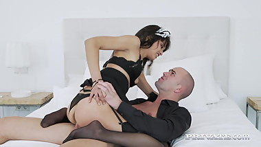 Spicy Latina Maid Scarlet Gets Ass Fucked By Boss!