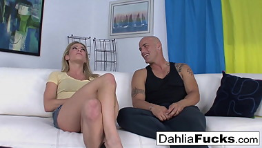 Getting fucked by Derrick on the couch