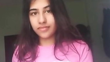Preety Indian teen strip part1