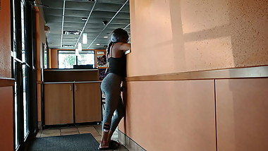 Ebony Teen Bubble Butt Petite Perky