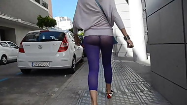 See through leggings!