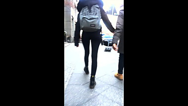 public candy in thight leggins sexy body and ass pt.2