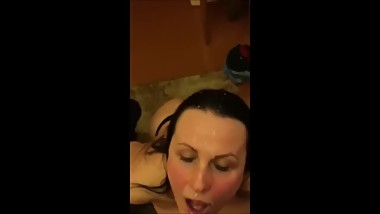 Non-Stop Teen Facial Compilation!
