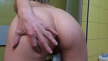 After shower ideas hairy pussy