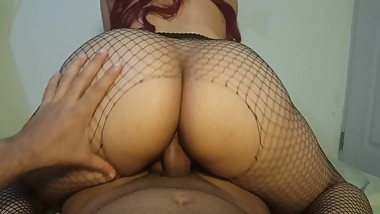 Molly Rides Cock And Twerking On It, Cum On Her Perfect ASS