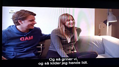 Norwegian young Girl and Man have SEX.